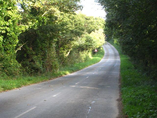 Minor road at Trispen