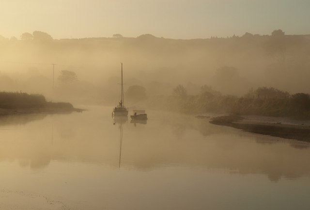 Mist on the Avon estuary (2)