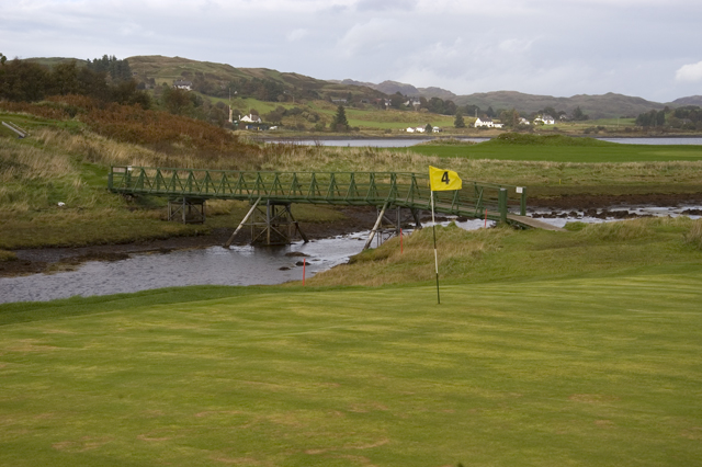 The 4th Green, Isle of Seil Golf Course