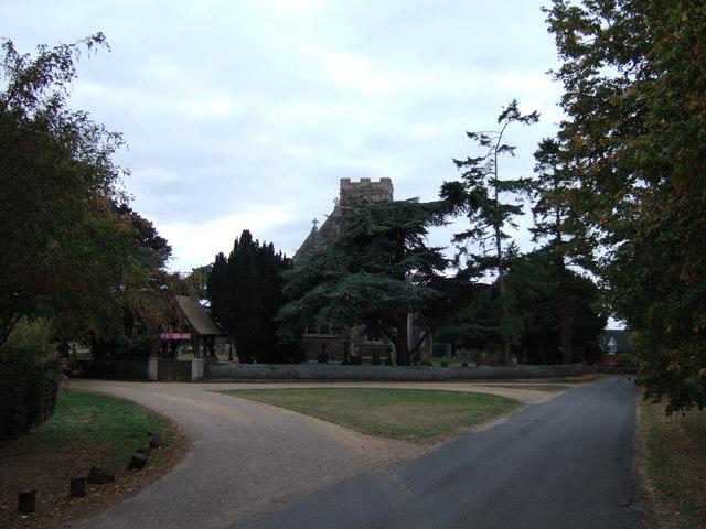 The church in Wolferton