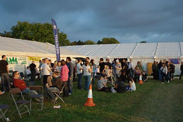Evening Sunlight at the Abbfest