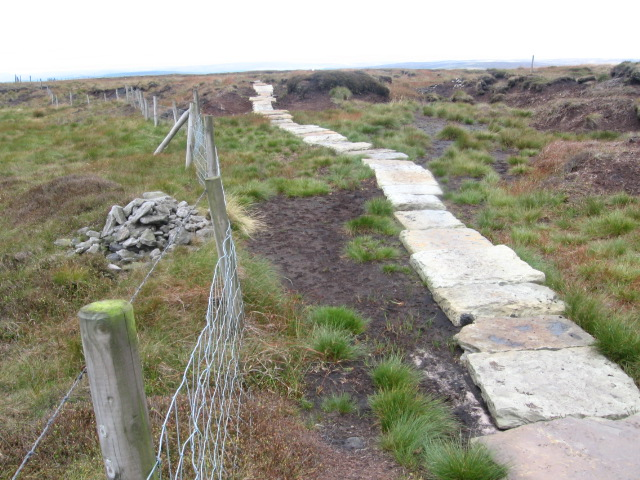 Footpath on White Moss towards Black Moss Reservoir