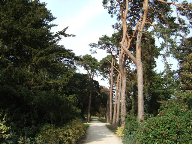 Path from Sandringham Church to Sandringham House