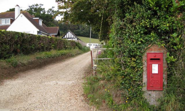Rear access between houses, Shutterton Lane