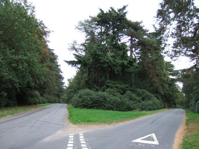 Crossroads in Wolferton