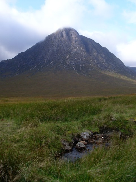 Small stream in the shadow of Buachaille Etive Mor