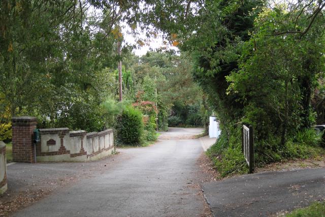 Sherwells Close off Shutterton Lane