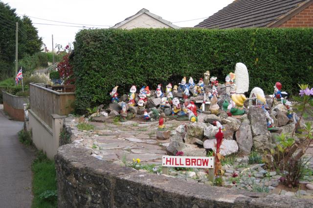 Garden gnomes, Shutterton Lane