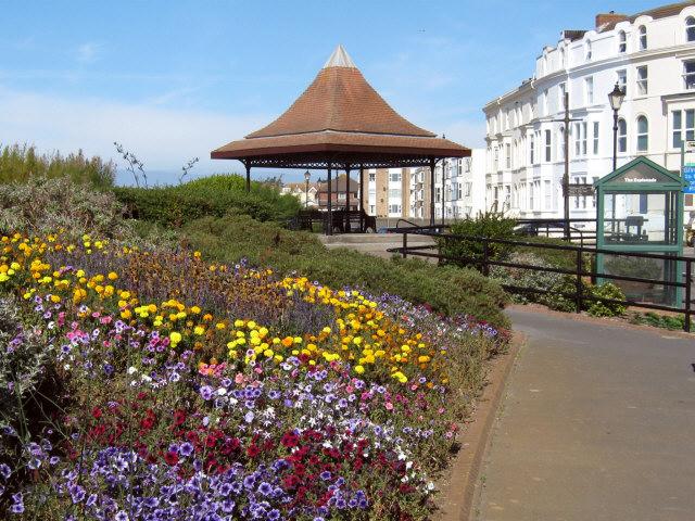 Bandstand on the Esplanade, Burnham-on-Sea