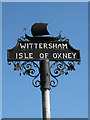 TQ9027 : Wittersham Village Sign by Oast House Archive