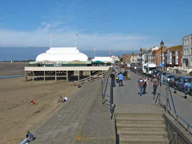 The sea front, Burnham-on-Sea