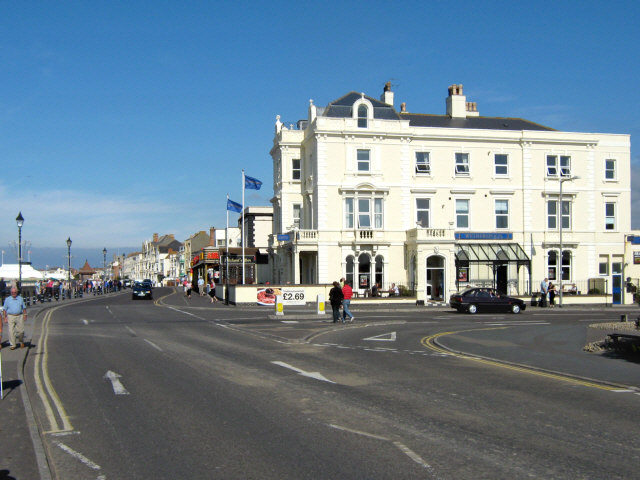 The sea front, Burnham-on-Sea