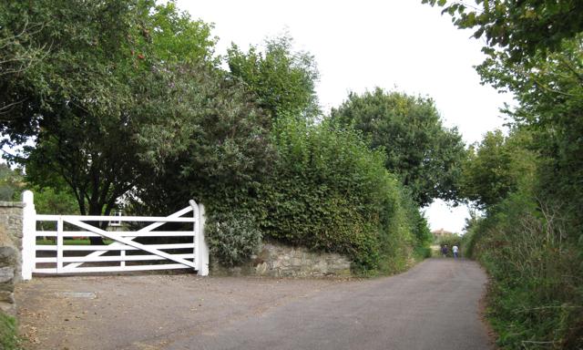Gate, Shutterton Farm, Shutterton Lane