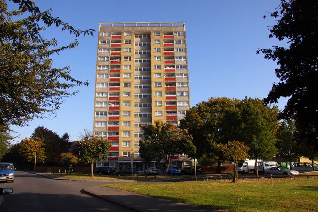 Evenlode Tower in Blackbird Leys
