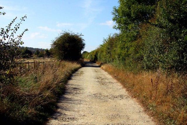 Bridleway on Harcourt Hill