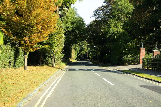 Looking down Harcourt Hill towards Botley