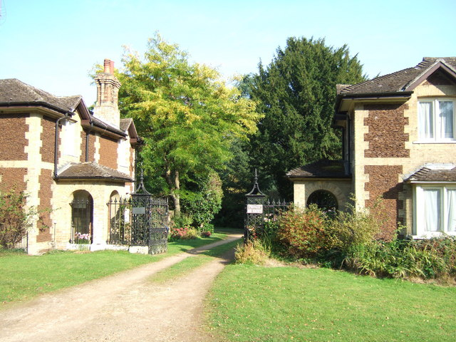 A gateway between the lodges, Sandringham