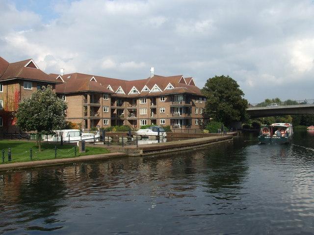 Flats on The River Cam, Cambridge