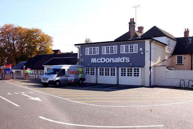 McDonald's restaurant in Botley