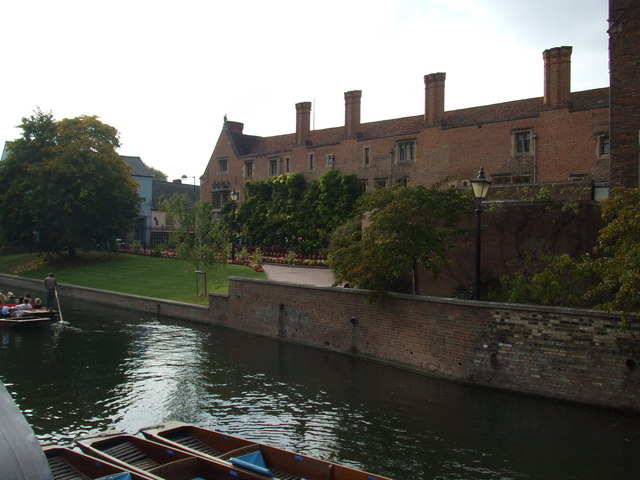 A view over The Cam, Cambridge