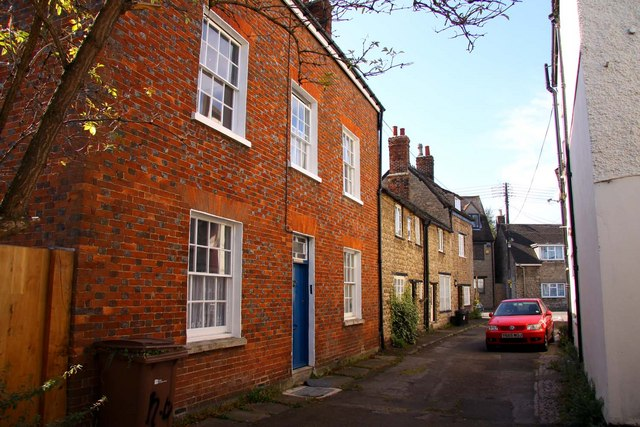 Old Botley houses