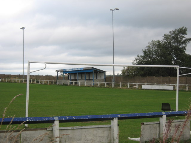 Football Ground at Evenwood,  County Durham