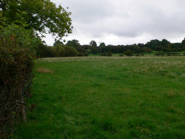 Farmland near Graig Quarry