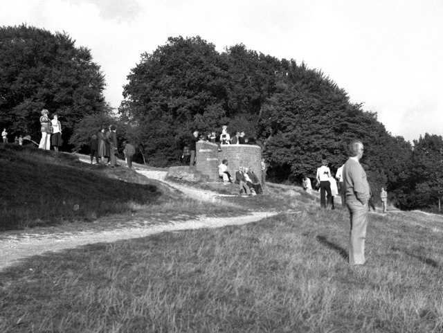 The viewpoint on Box Hill