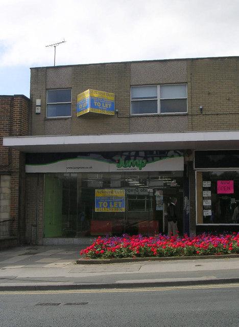 Empty Shop - Lidget Hill