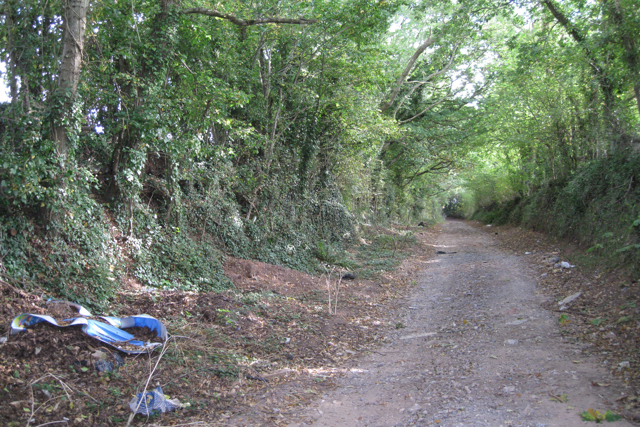 Fly-tipping near holiday parks