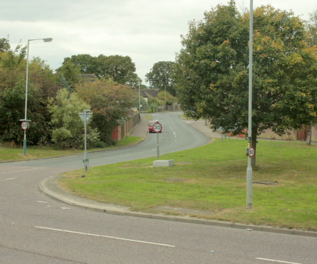 2009 : Lodge Road, east Chippenham