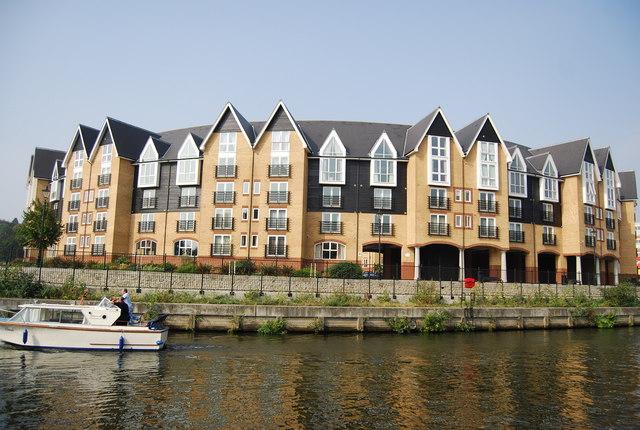 New riverside flats, Maidstone