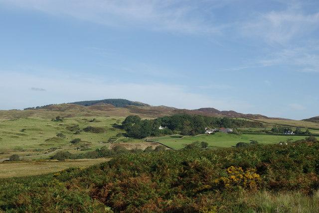 A view towards Laghead