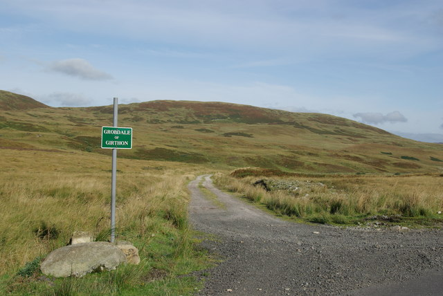 Track leading to Grobdale of Girthon