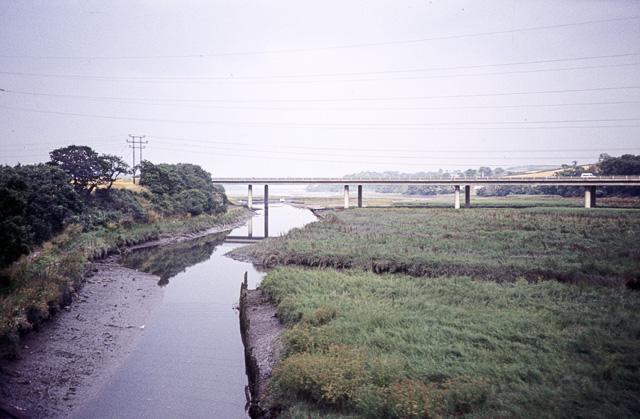 Teign road bridge
