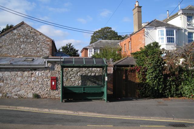 Bus stop, Mount Pleasant Road, Dawlish Warren