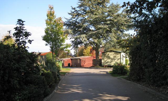 Entrance, Oakcliff Holiday Park, Dawlish Warren