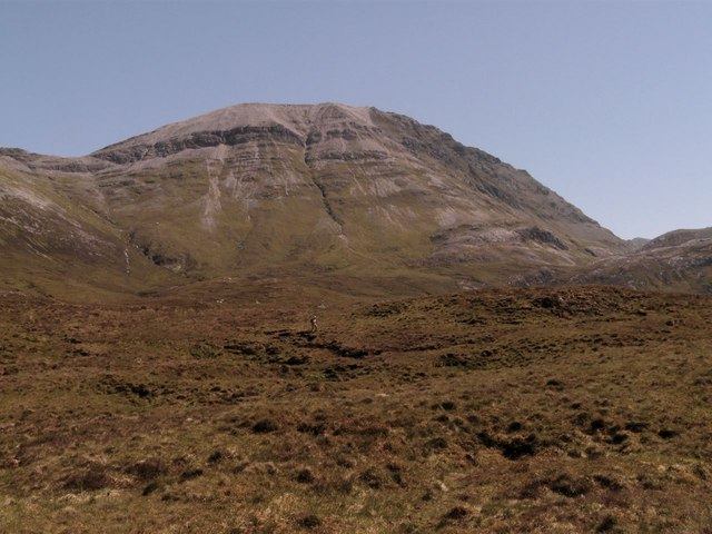 Above Loch Mhaolach-coire