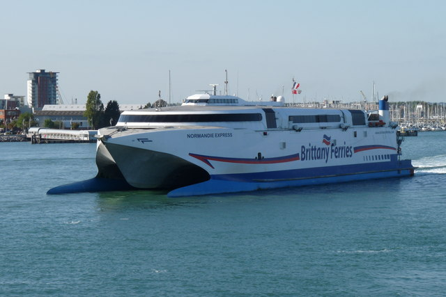 Normandie Express in Portsmouth Harbour