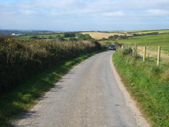 A narrow lane!