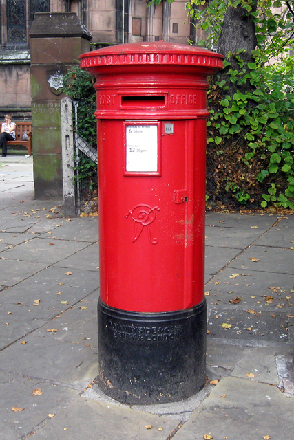 Victorian Post Box,  Chester