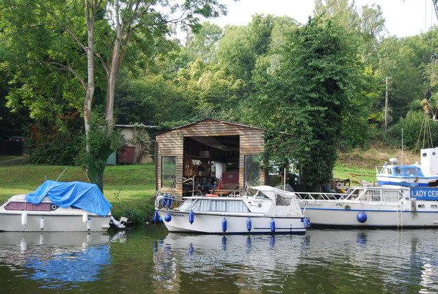 Boat Shed on the River Medway
