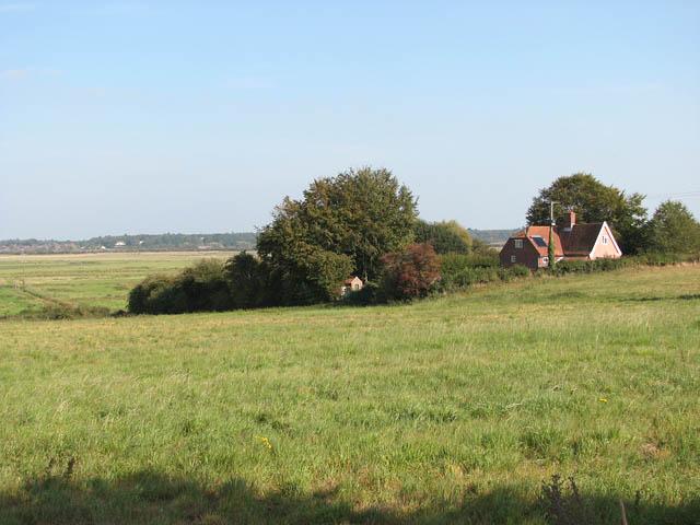 View towards Low Farm