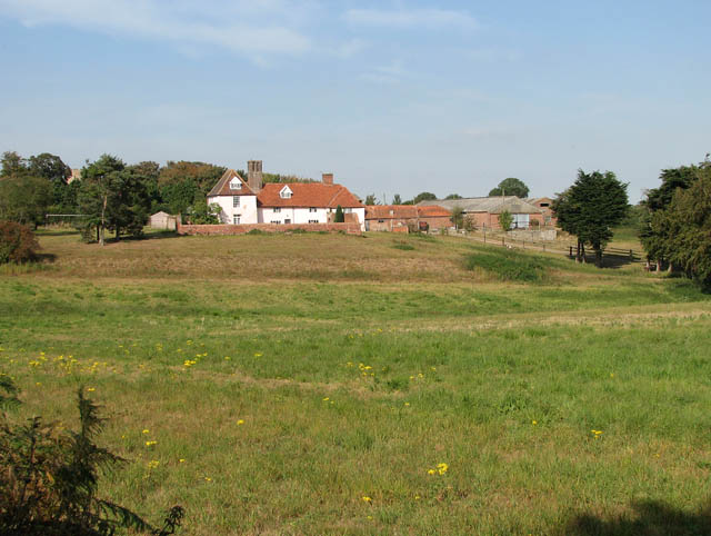 View towards Thorpe Hall from Thorpe Road