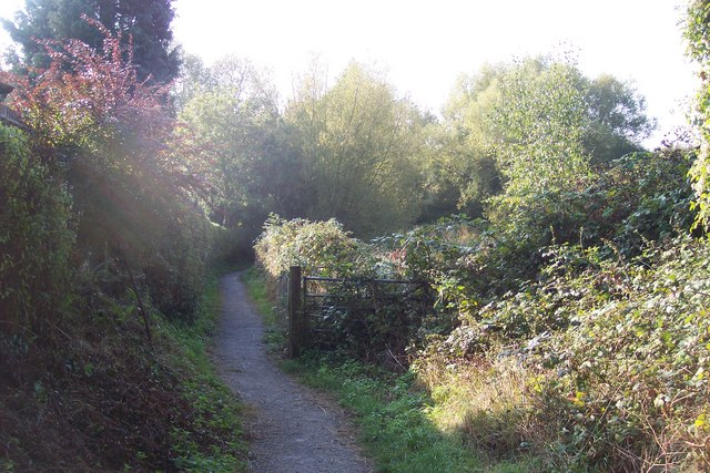 Footpath to Lewes Heath