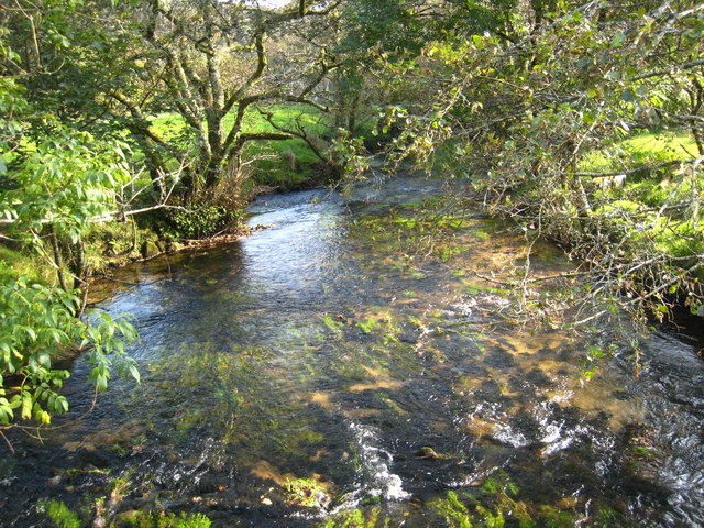 The River Fowey at Trekeivesteps