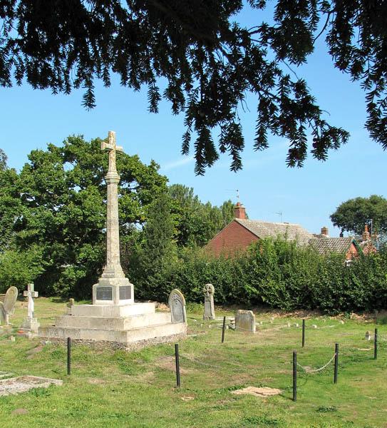 St Mary's church - the war memorial