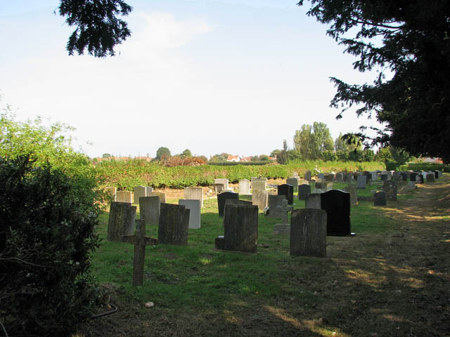 St Mary's church - churchyard