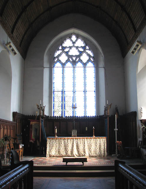 St Mary's church - the chancel
