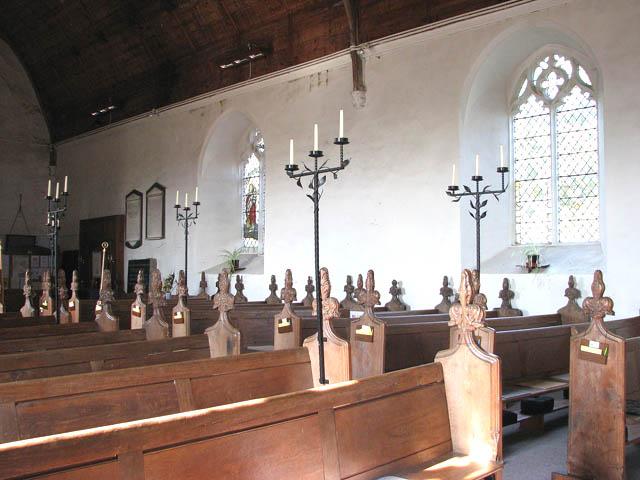 St Mary's church - C19 pews
